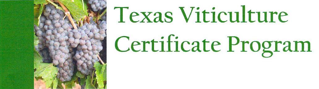 Viticulture Certificate Program